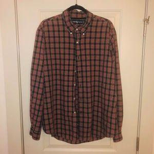 Iconic Ralph Lauren Long Sleeve Button Down - XL